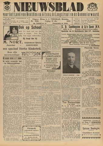 Nieuwsblad het land van Heusden en Altena de Langstraat en de Bommelerwaard 1930-05-16
