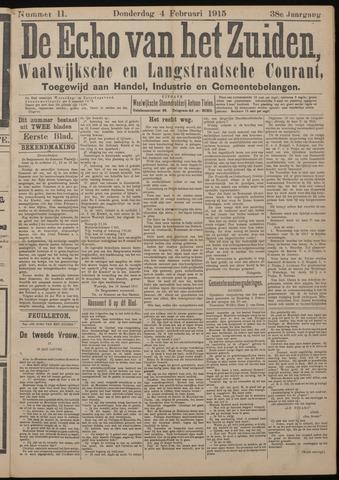 Echo van het Zuiden 1915-02-04