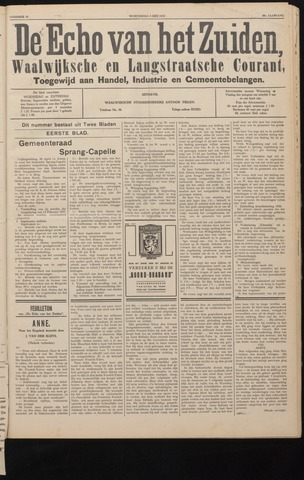 Echo van het Zuiden 1937-05-05