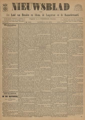 Nieuwsblad het land van Heusden en Altena de Langstraat en de Bommelerwaard 1896-08-15