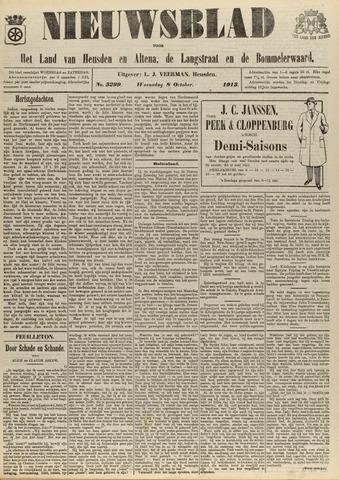 Nieuwsblad het land van Heusden en Altena de Langstraat en de Bommelerwaard 1913-10-08