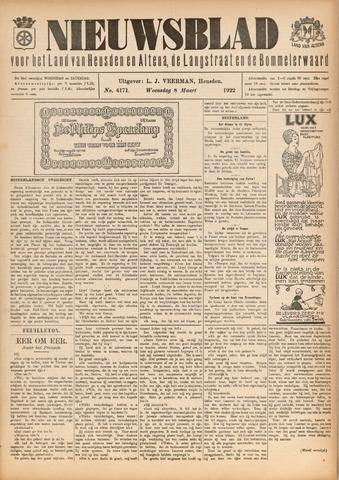 Nieuwsblad het land van Heusden en Altena de Langstraat en de Bommelerwaard 1922-03-08