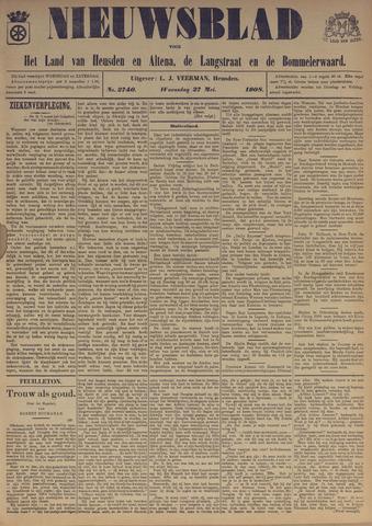 Nieuwsblad het land van Heusden en Altena de Langstraat en de Bommelerwaard 1908-05-27