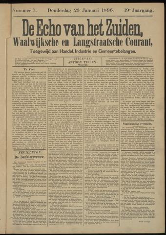Echo van het Zuiden 1896-01-23