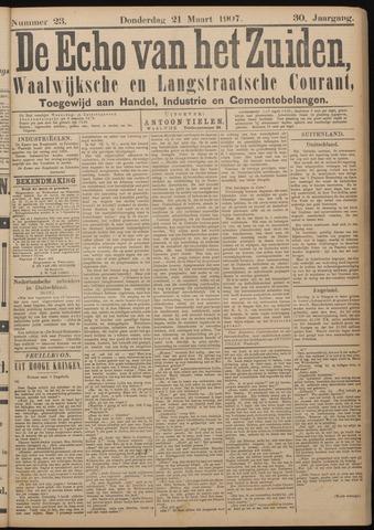 Echo van het Zuiden 1907-03-21