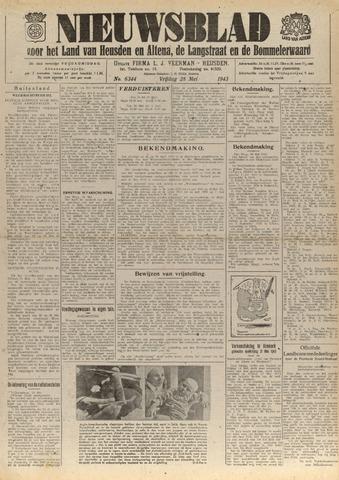 Nieuwsblad het land van Heusden en Altena de Langstraat en de Bommelerwaard 1943-05-28