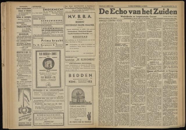 Echo van het Zuiden 1946-05-03