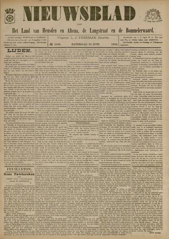 Nieuwsblad het land van Heusden en Altena de Langstraat en de Bommelerwaard 1899-06-10