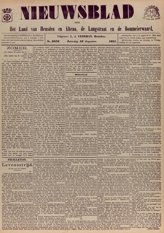 Nieuwsblad het land van Heusden en Altena de Langstraat en de Bommelerwaard 1911-08-19