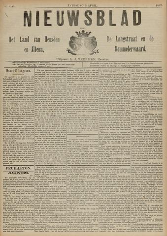 Nieuwsblad het land van Heusden en Altena de Langstraat en de Bommelerwaard 1892-04-02