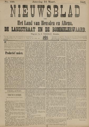 Nieuwsblad het land van Heusden en Altena de Langstraat en de Bommelerwaard 1885-03-14