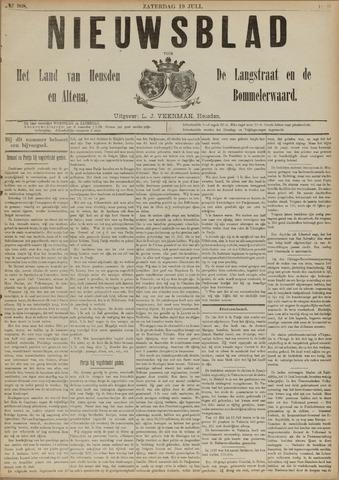 Nieuwsblad het land van Heusden en Altena de Langstraat en de Bommelerwaard 1890-07-19