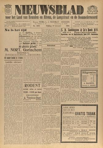 Nieuwsblad het land van Heusden en Altena de Langstraat en de Bommelerwaard 1934-01-19