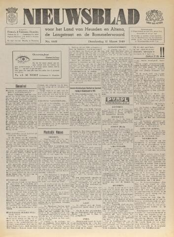 Nieuwsblad het land van Heusden en Altena de Langstraat en de Bommelerwaard 1949-03-10