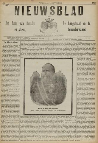 Nieuwsblad het land van Heusden en Altena de Langstraat en de Bommelerwaard 1890-11-26