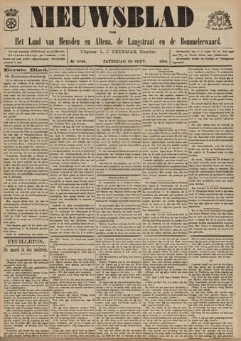 Nieuwsblad het land van Heusden en Altena de Langstraat en de Bommelerwaard 1901-09-28