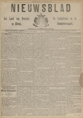 Nieuwsblad het land van Heusden en Altena de Langstraat en de Bommelerwaard 1891-12-19