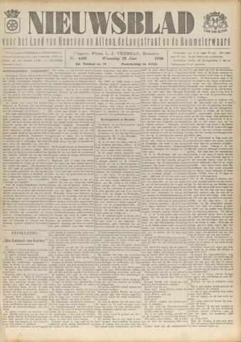 Nieuwsblad het land van Heusden en Altena de Langstraat en de Bommelerwaard 1924-06-25
