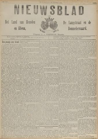 Nieuwsblad het land van Heusden en Altena de Langstraat en de Bommelerwaard 1890-02-26