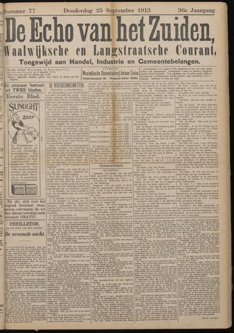 Echo van het Zuiden 1913-09-25