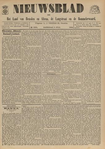 Nieuwsblad het land van Heusden en Altena de Langstraat en de Bommelerwaard 1904-07-09
