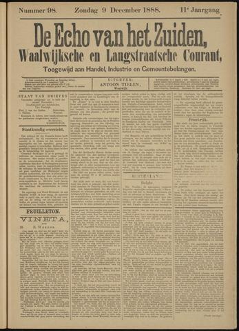Echo van het Zuiden 1888-12-09