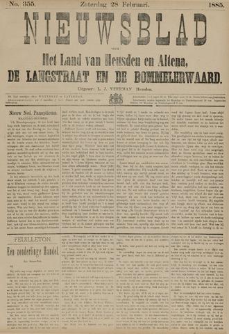 Nieuwsblad het land van Heusden en Altena de Langstraat en de Bommelerwaard 1885-02-28