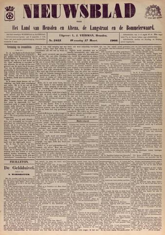 Nieuwsblad het land van Heusden en Altena de Langstraat en de Bommelerwaard 1909-03-17