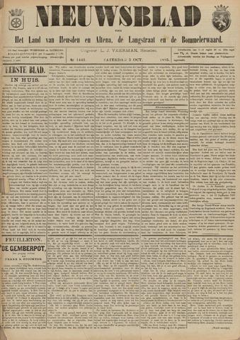 Nieuwsblad het land van Heusden en Altena de Langstraat en de Bommelerwaard 1895-10-05