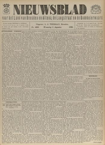 Nieuwsblad het land van Heusden en Altena de Langstraat en de Bommelerwaard 1920-08-04