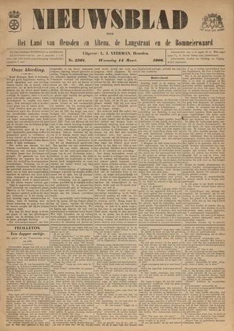Nieuwsblad het land van Heusden en Altena de Langstraat en de Bommelerwaard 1906-03-14