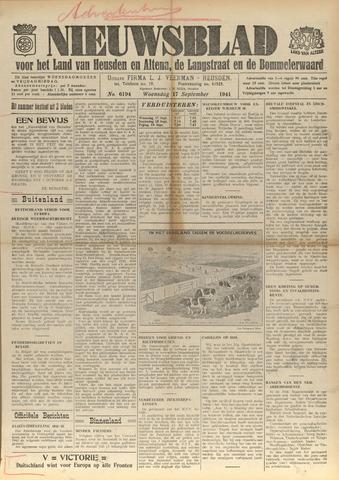 Nieuwsblad het land van Heusden en Altena de Langstraat en de Bommelerwaard 1941-09-17