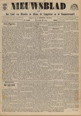 Nieuwsblad het land van Heusden en Altena de Langstraat en de Bommelerwaard 1906-06-27