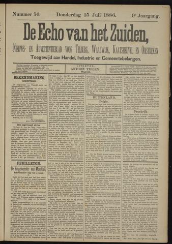 Echo van het Zuiden 1886-07-15