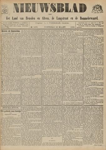 Nieuwsblad het land van Heusden en Altena de Langstraat en de Bommelerwaard 1896-03-25