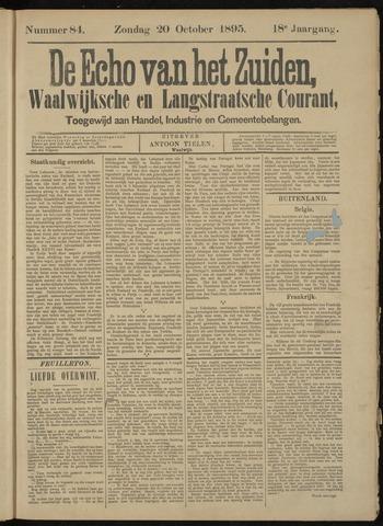 Echo van het Zuiden 1895-10-20