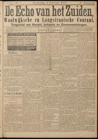 Echo van het Zuiden 1905-02-02