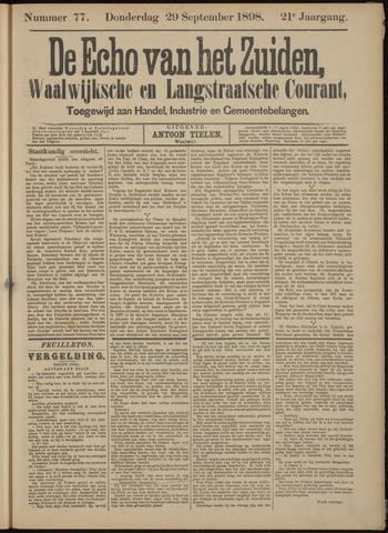 Echo van het Zuiden 1898-09-29