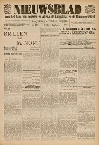 Nieuwsblad het land van Heusden en Altena de Langstraat en de Bommelerwaard 1936-09-04