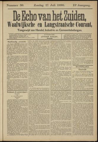Echo van het Zuiden 1890-07-27