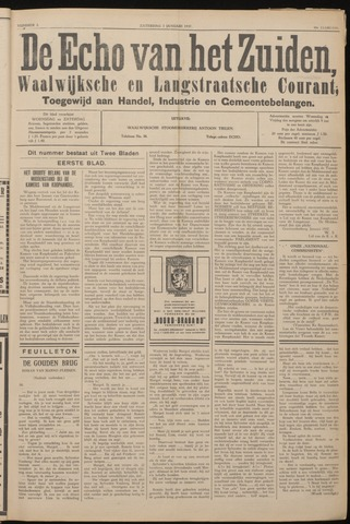 Echo van het Zuiden 1937-01-02