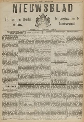 Nieuwsblad het land van Heusden en Altena de Langstraat en de Bommelerwaard 1891-08-08