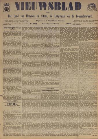 Nieuwsblad het land van Heusden en Altena de Langstraat en de Bommelerwaard 1908-02-05