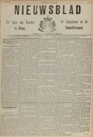 Nieuwsblad het land van Heusden en Altena de Langstraat en de Bommelerwaard 1891-06-20