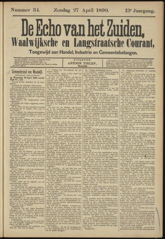 Echo van het Zuiden 1890-04-27