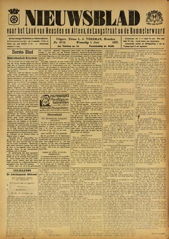 Nieuwsblad het land van Heusden en Altena de Langstraat en de Bommelerwaard 1927-06-01
