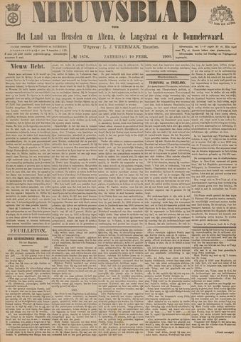 Nieuwsblad het land van Heusden en Altena de Langstraat en de Bommelerwaard 1900-02-10