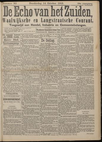 Echo van het Zuiden 1915-10-14
