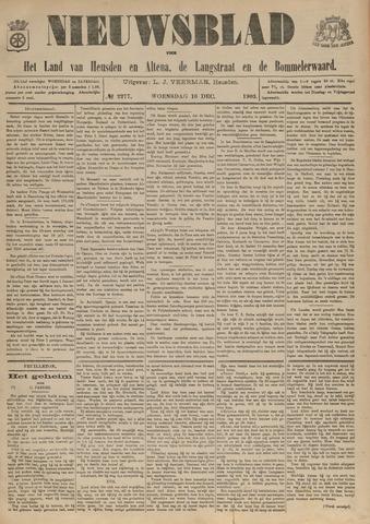 Nieuwsblad het land van Heusden en Altena de Langstraat en de Bommelerwaard 1903-12-16
