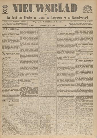 Nieuwsblad het land van Heusden en Altena de Langstraat en de Bommelerwaard 1904-01-23